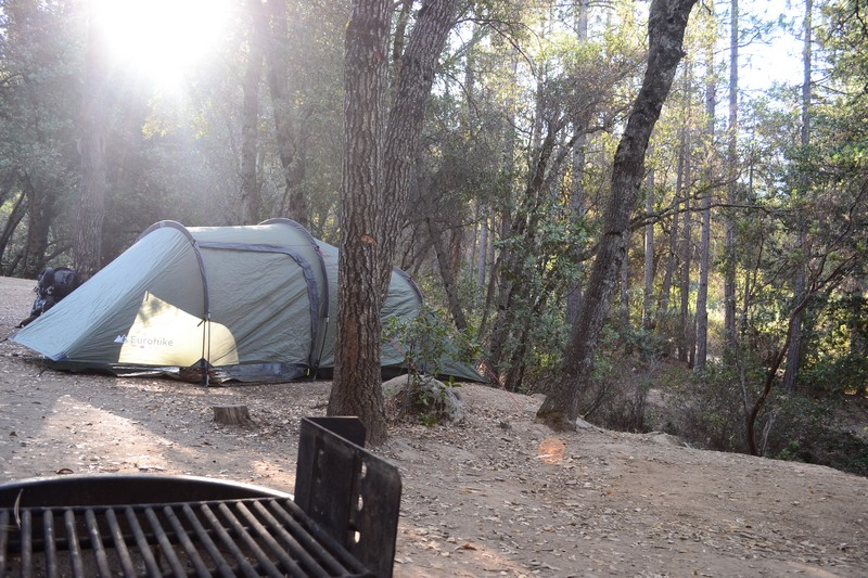 californie, camping, pine bungalow