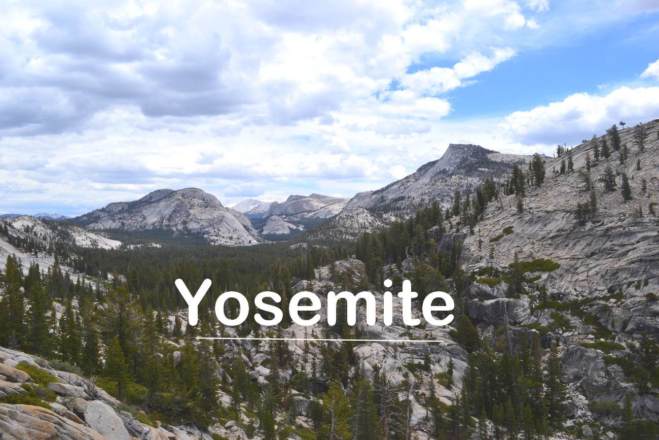 Point de vue sur le Yosemite
