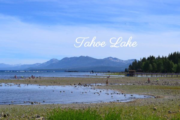 Plage Tahoe Lake