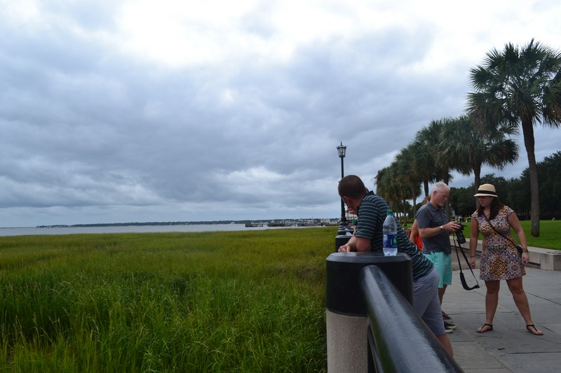 Charleston, Caroline du Sud, South Carolina, usa, etats-unis, expatriation, voyage, battery, water front
