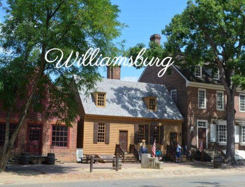 Visite de l'ancienne colonie de Williamsburg