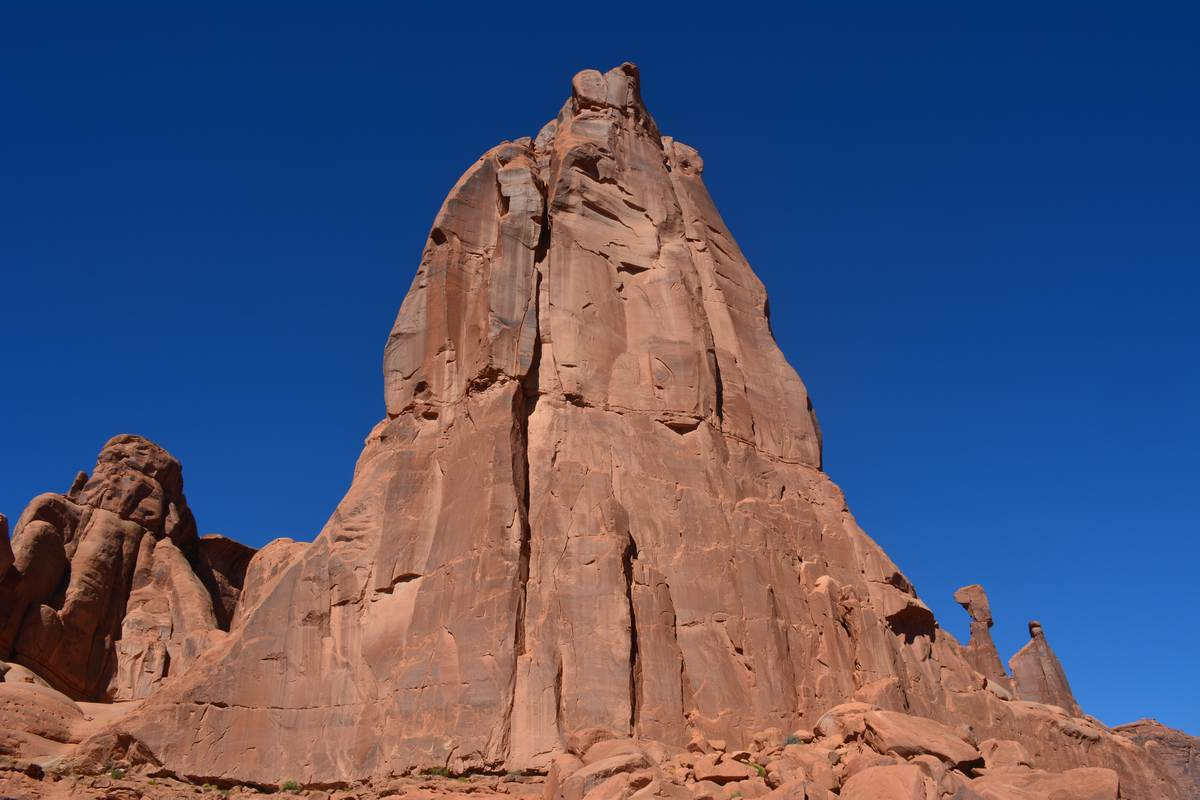 Formation rocheuses Arches