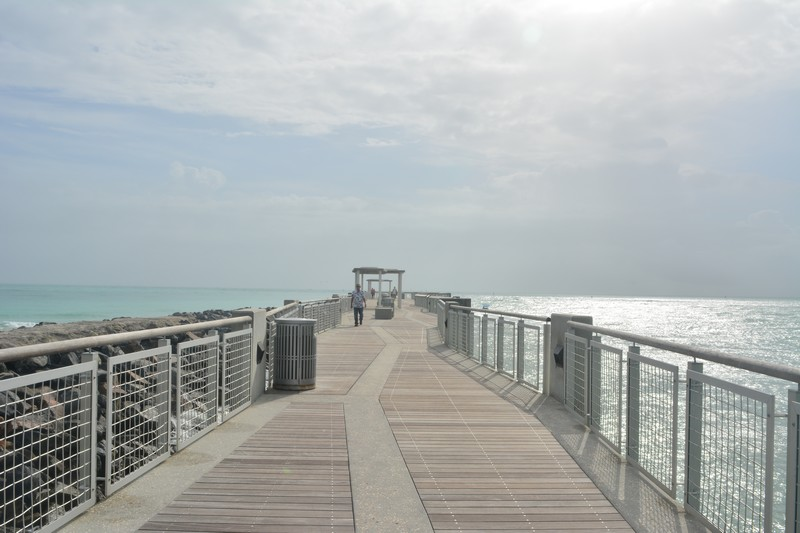Vue sur South Point Pier