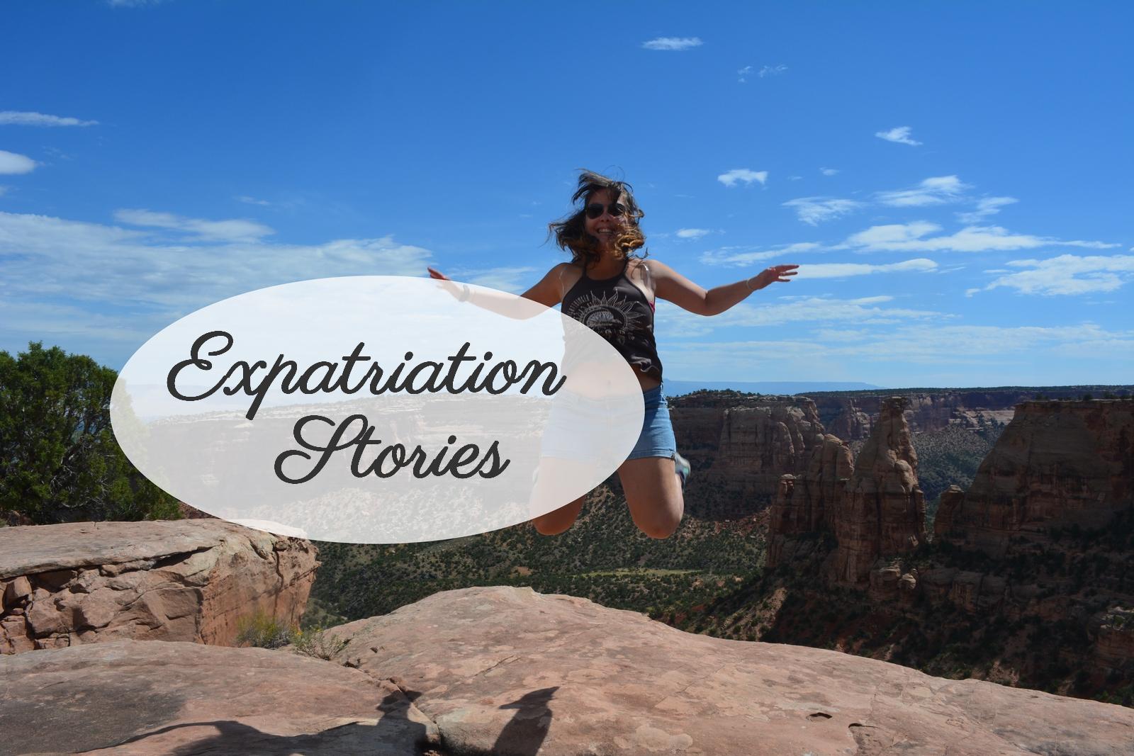 sauter au dessus de Colorado National Monument