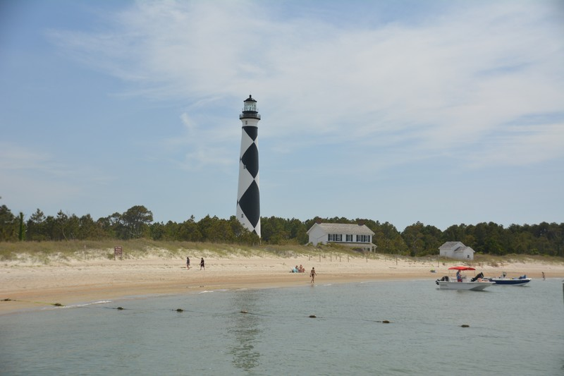 Plage Cape Loukoout Outer Banks