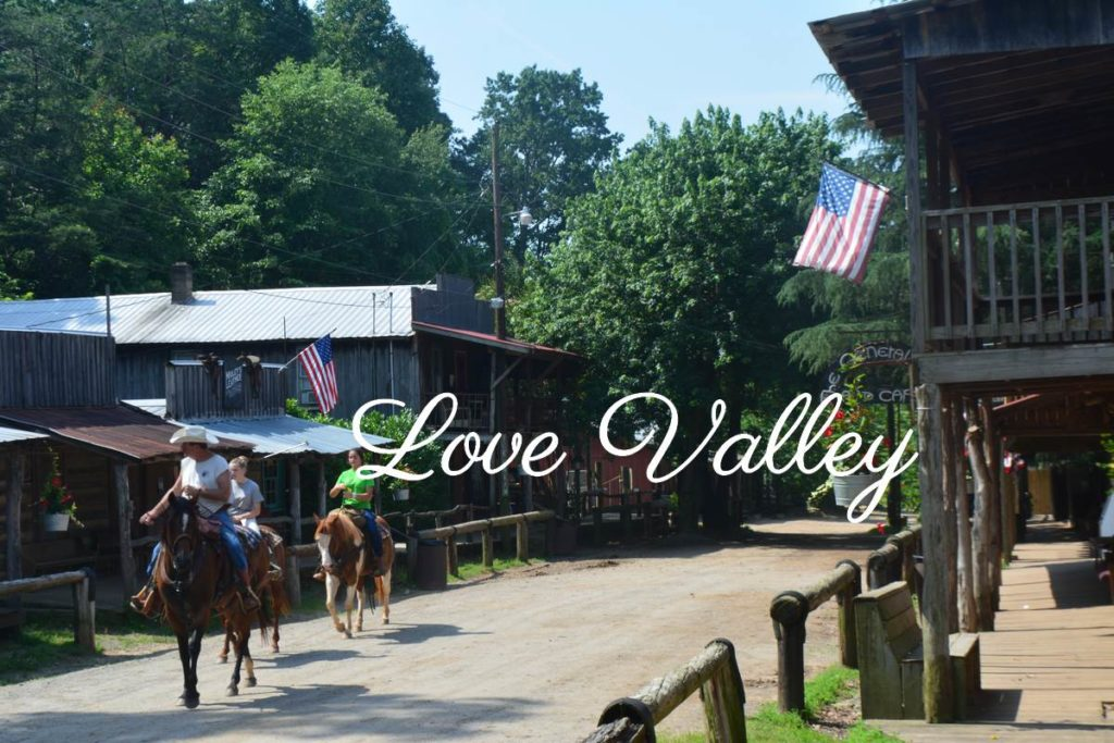 A cheval dans Love Valley