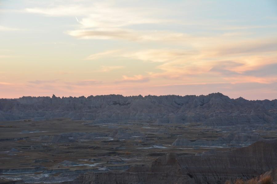 Baldlands National Park et ses couleurs chatoyantes