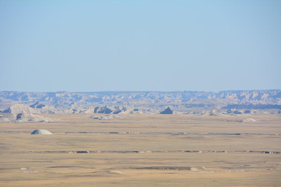 Vue imprenable depuis Big Baldlands Overlook
