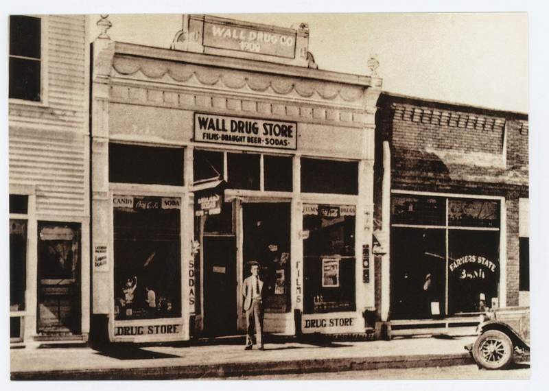 Wall Drug Store ouverture
