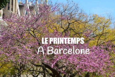 photo printemps barcelone