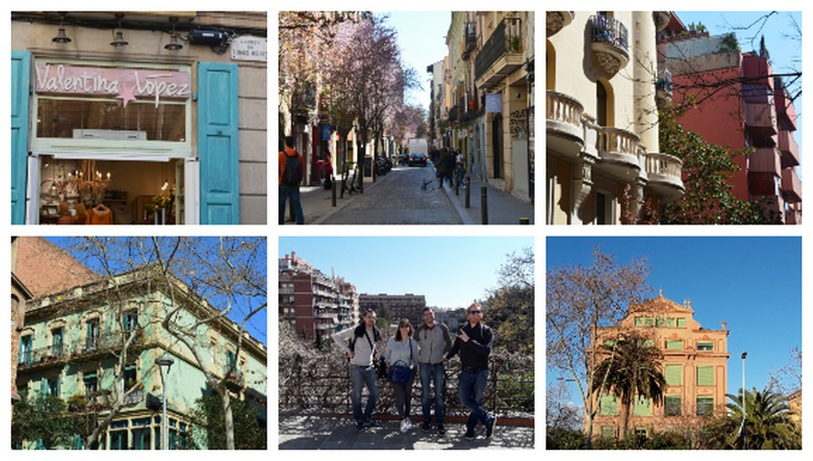Photos rues de Barcelone