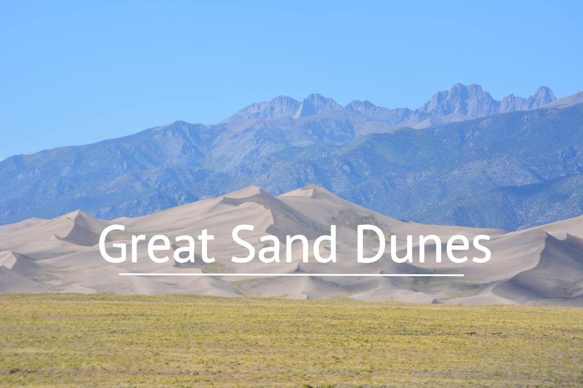 Point de vue sur Great Sand Dunes
