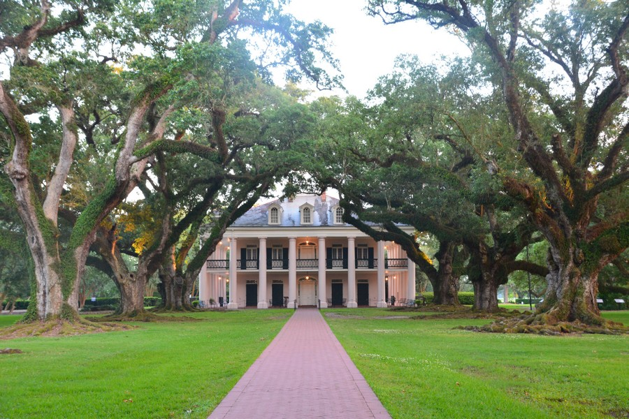 Maison plantation Oak Alley