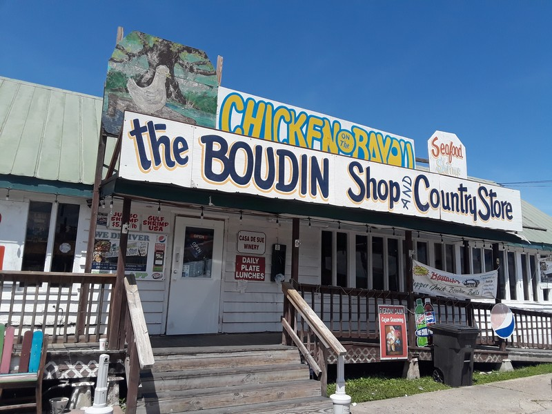 magasin boudin Louisiane