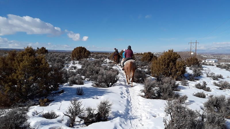 randonnée à cheval Colorado