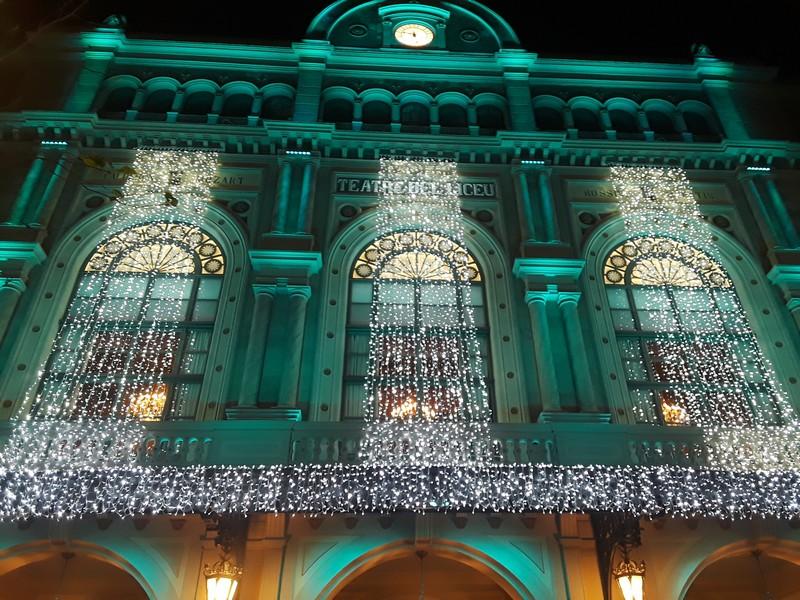 décoration théâtre Liceu