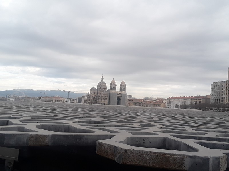 mucem et cathédrale de la major
