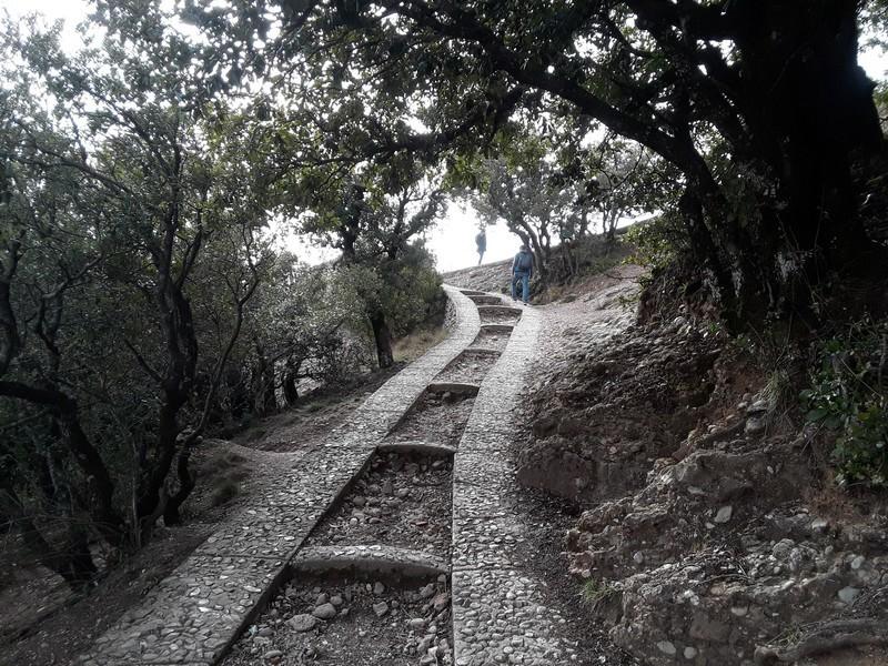 randonnée san Jeroni