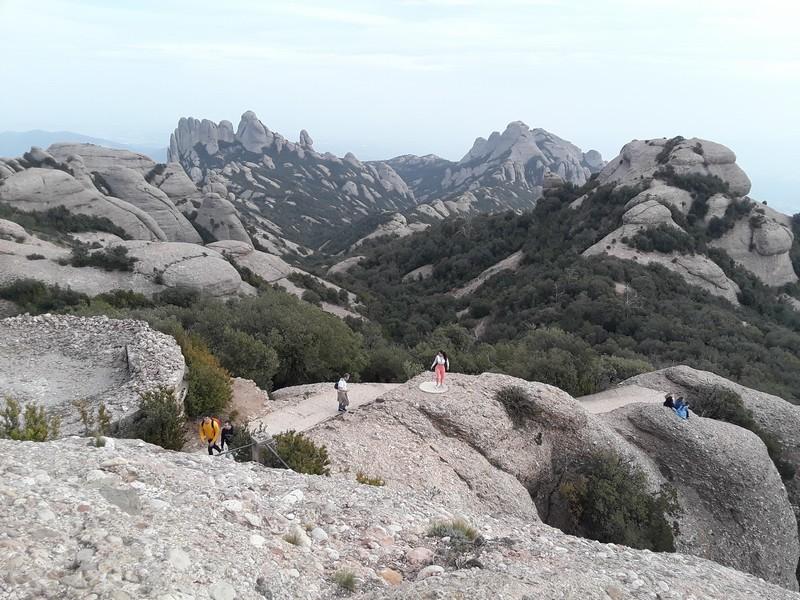 randonnée sommet Montserrat