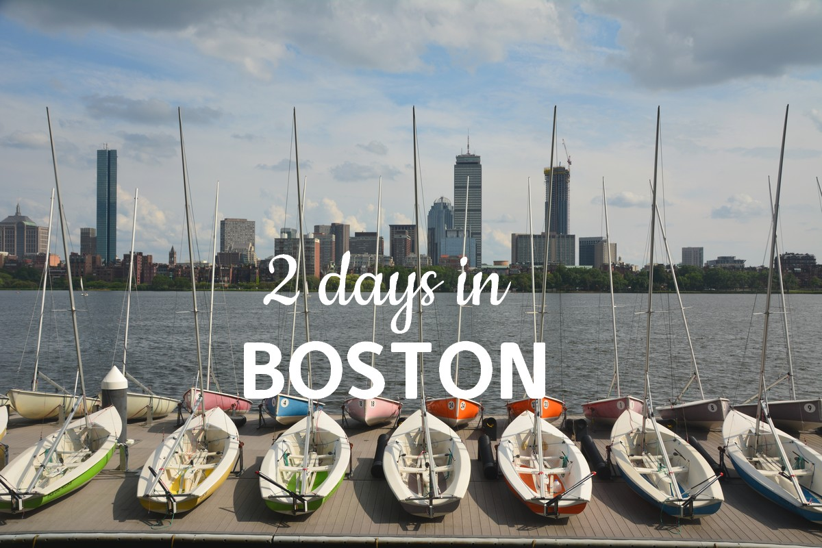 visite Boston en 2 jours