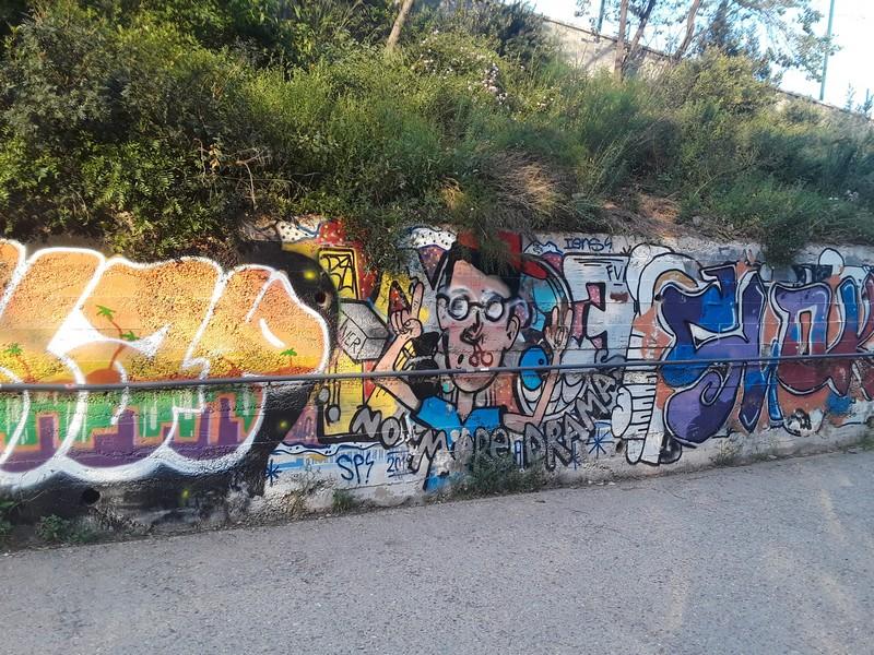 street art Parc Guell