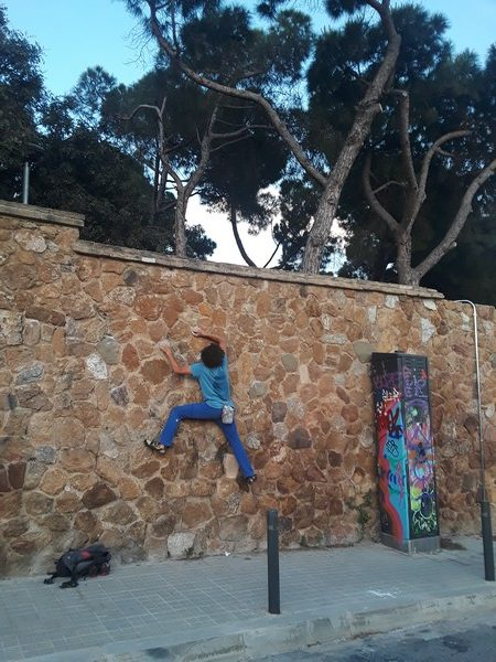 Escalade parc Guell
