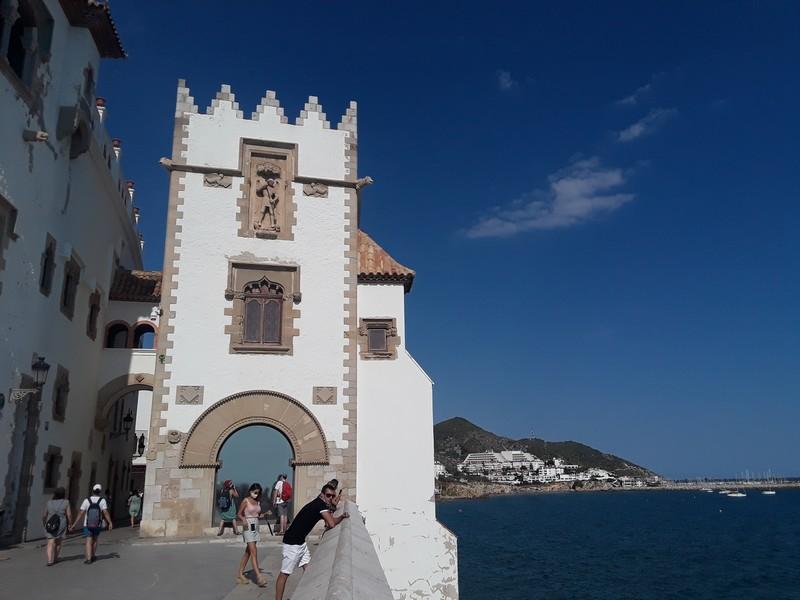 architecture médiévale Sitges