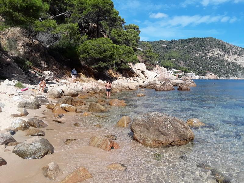 aigua blava plage Costa Brava