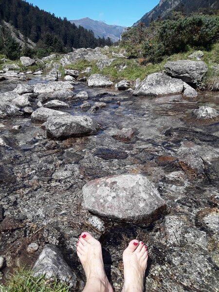 bain de pied Pyrénées